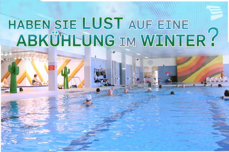 Schwimmerbecken im Hallenbad Heddesheim