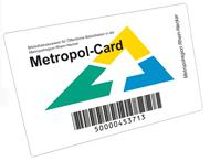 Metropolcard - die Karte für die Bibliotheken in der Metropolregion Rhein-Neckar