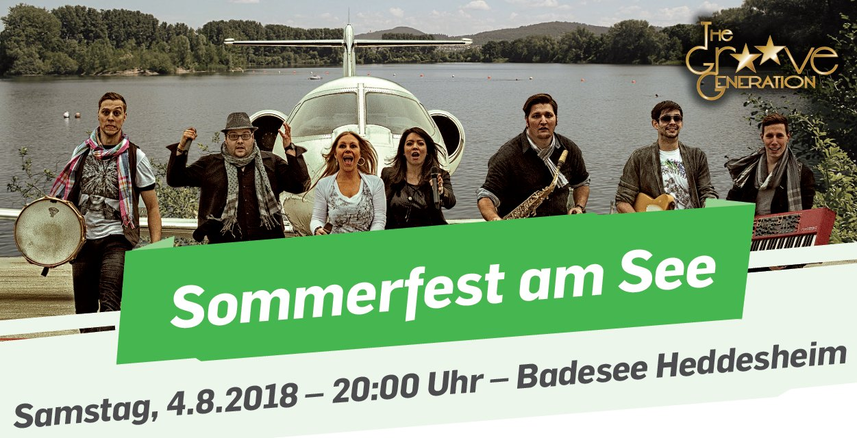 Sommerfest am See 4.8.2018
