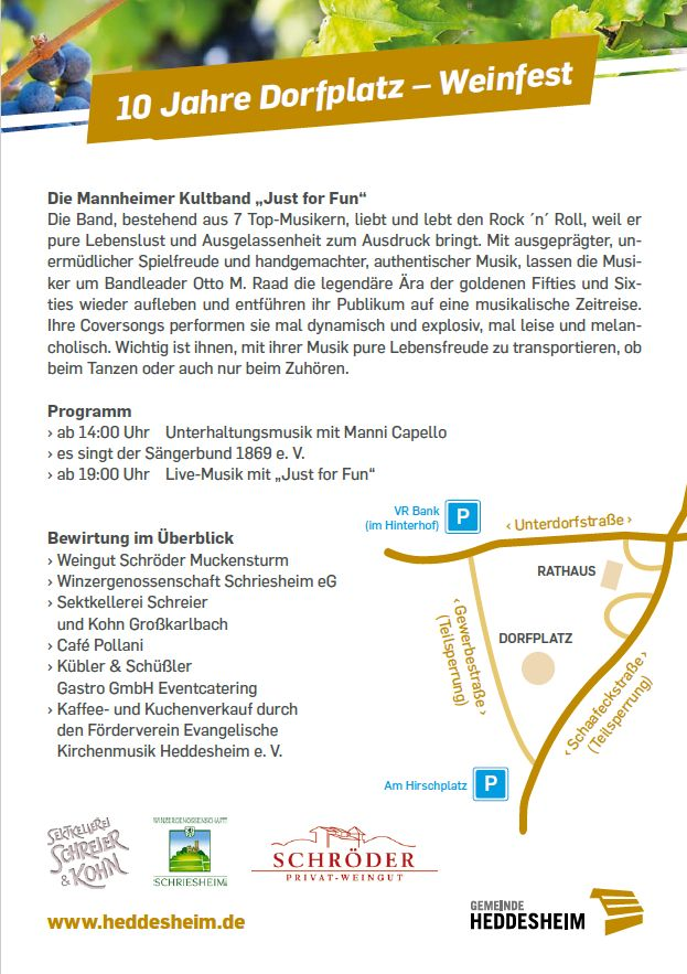 Weinfest Flyer Seite 2