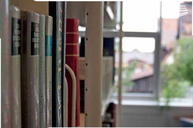 Bücherei Buchregal