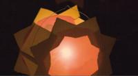 Eine leuchtende Laterne - Martinszug in Heddesheim