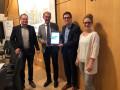 Übergabe der Digitalisierungsstrategie an die Gemeinde Heddesheim