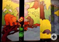 Polleke Bär auf Abenteuer