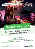 Sommerfest am See 03.08.2019