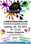 Plakat Jugendversammlung 2019