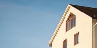 Bauen –Errichtetes Haus