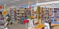 Bücherei –Bücherregale und Verwaltung