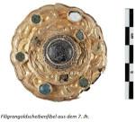 Bild einer Fibel aus dem 7. Jahrhundert