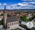 Evangelische Kirche und Gemeindehaus Heddesheim