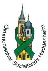 Logo Ökumenischer Sozialfonds Heddesheim e. V.