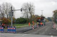 Baumassnahme Straßenbauarbeiten