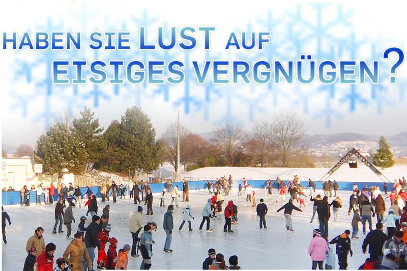 Eislaufen auf der Kunsteisbahn Heddesheim
