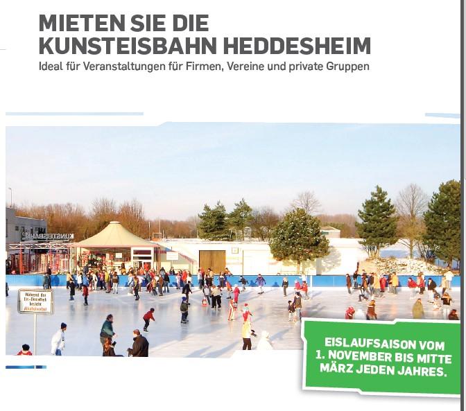 Banner Vermietung Eisbahn