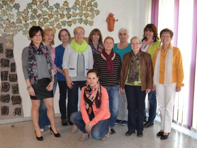 Vorstandsteam der kfd Heddesheim