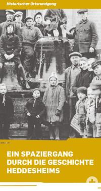 Titelseite des Fylers Historischer Ortsrundgang Heddesheim