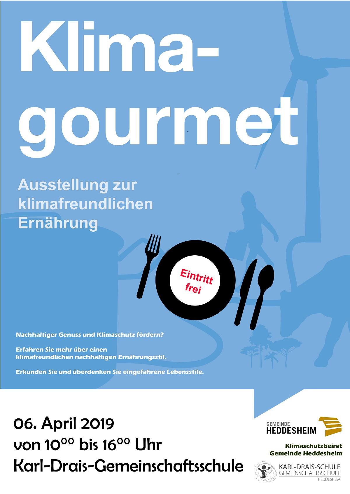 Plakat Veranstaltung Klima Gourmet
