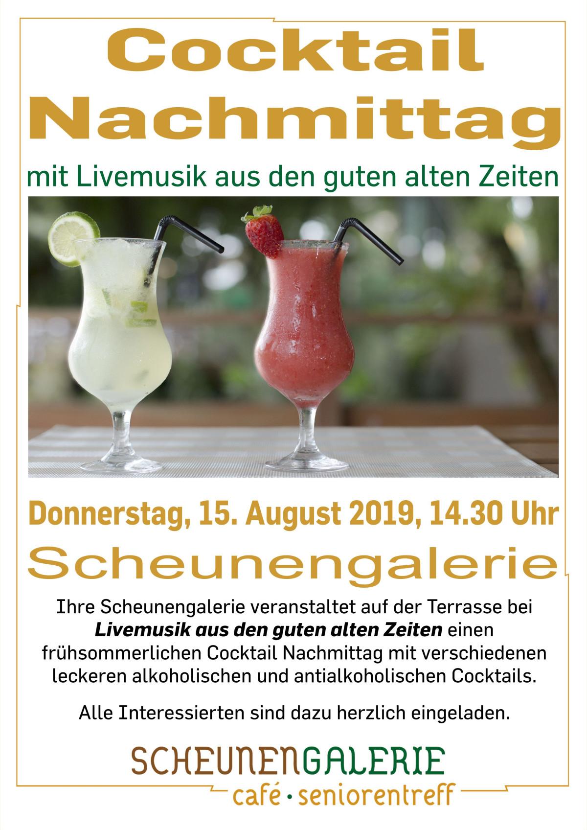 Cocktail Nachmittag