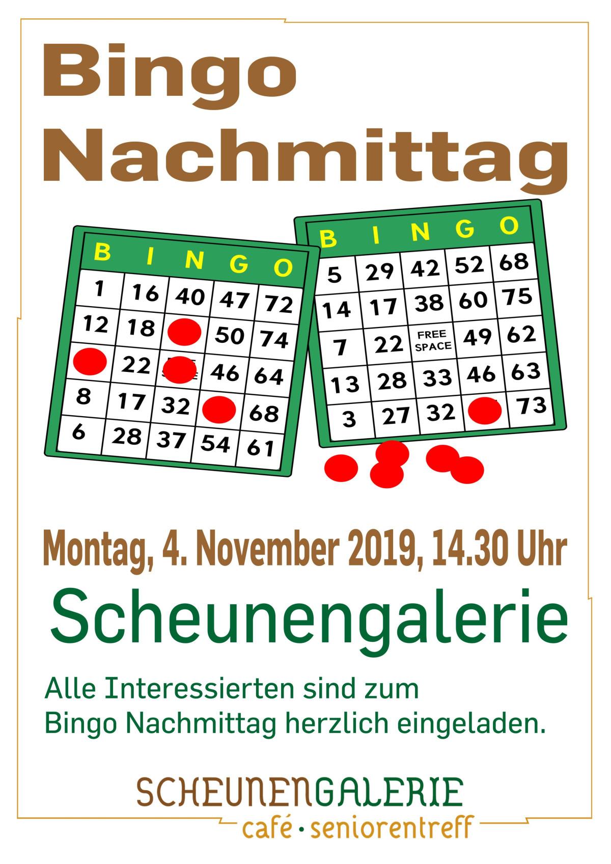 Bingo Nachmittag