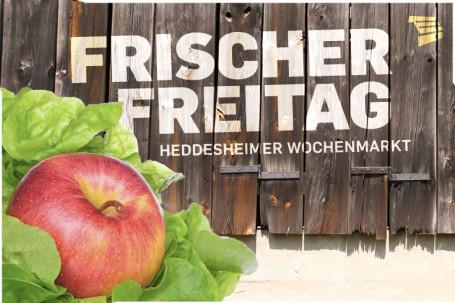 Frischer Freitag - Heddesheimer Wochenmarkt