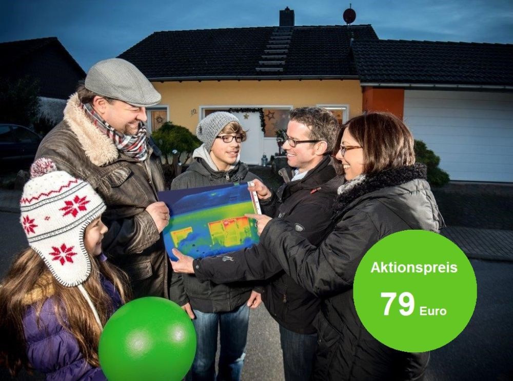 AVR Thermografie Familie mit Berater